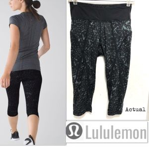 Lululemon Pedal Pace Crop Star Crushed
